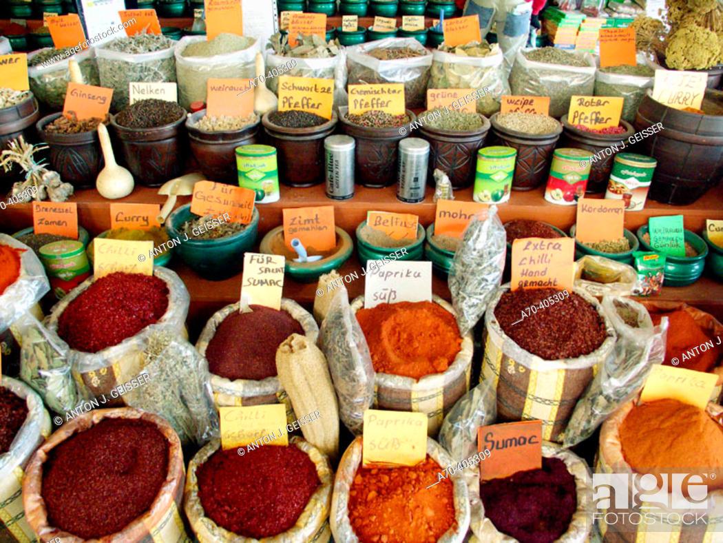 Stock Photo: Spices. Turkey.