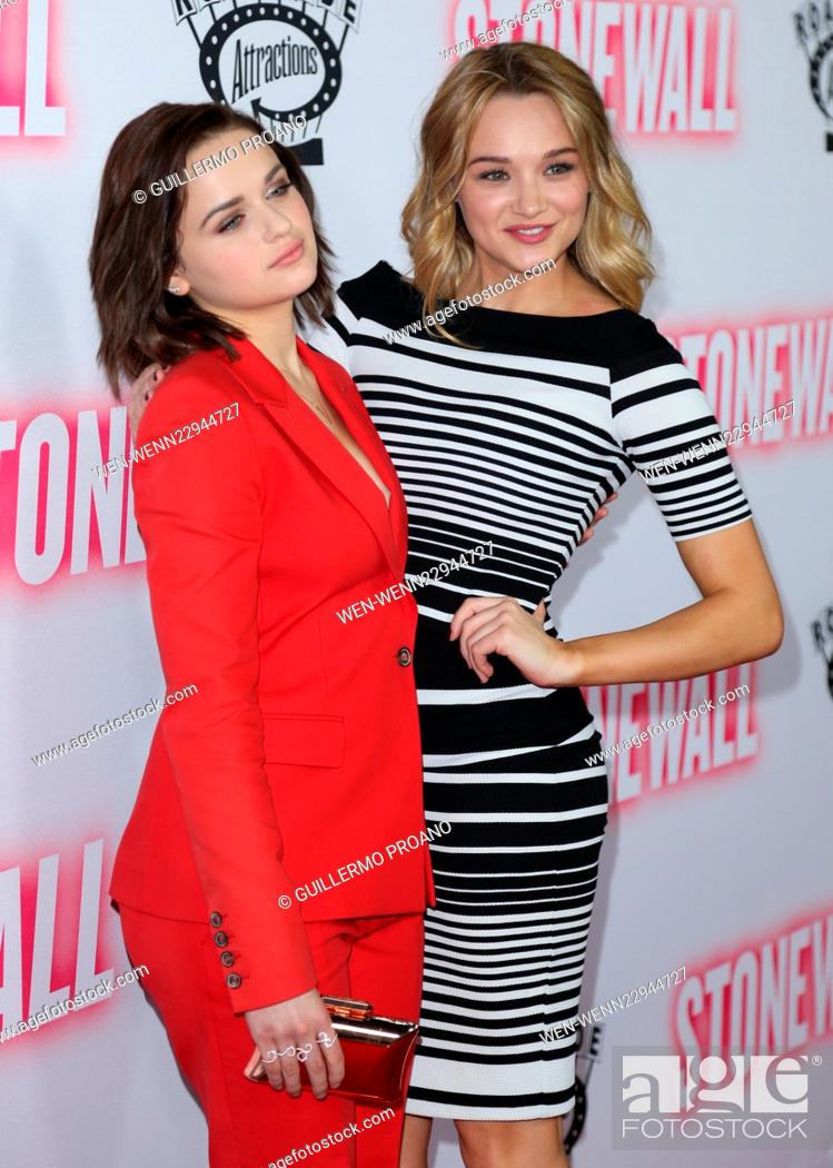 Premiere Of The Movie Stonewall At Pacific Design Center In West Hollywood Featuring Hunter King Stock Photo Picture And Rights Managed Image Pic Wen Wenn22944727 Agefotostock