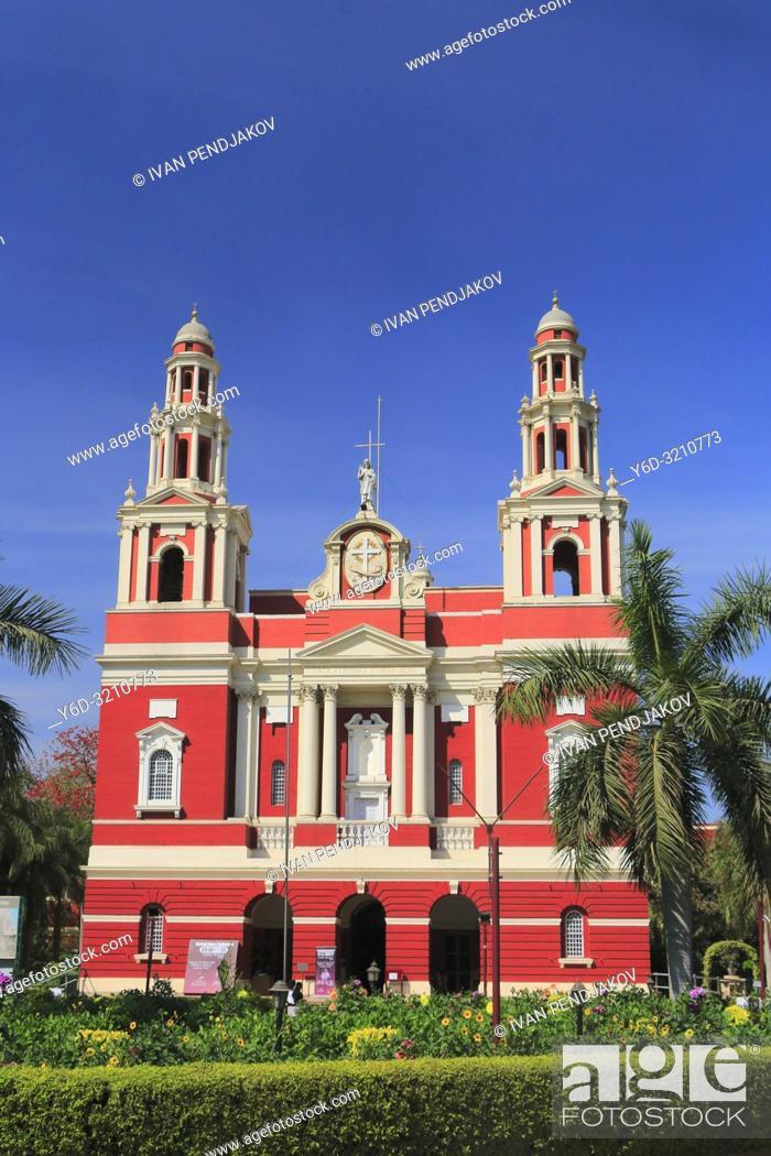 Stock Photo: Sacred Heart Cathedral, New Delhi, India.