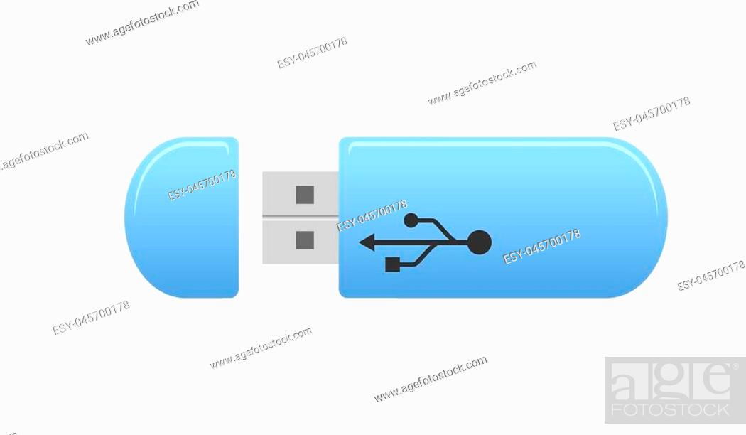New Blue USB Flash Drive Storage Memory Stick Universal for Computer