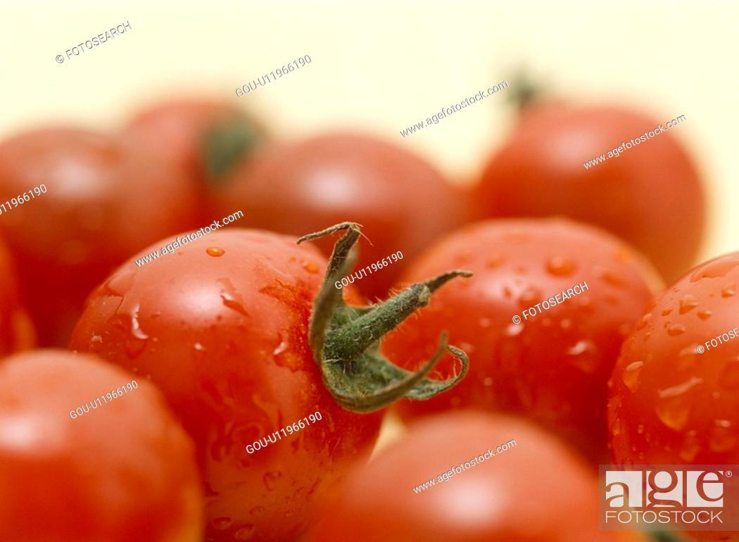 Stock Photo: Cherry Tomato.
