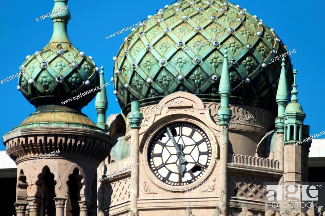 Forum Cinema building dome, Flinders Street, Melbourne, Victoria