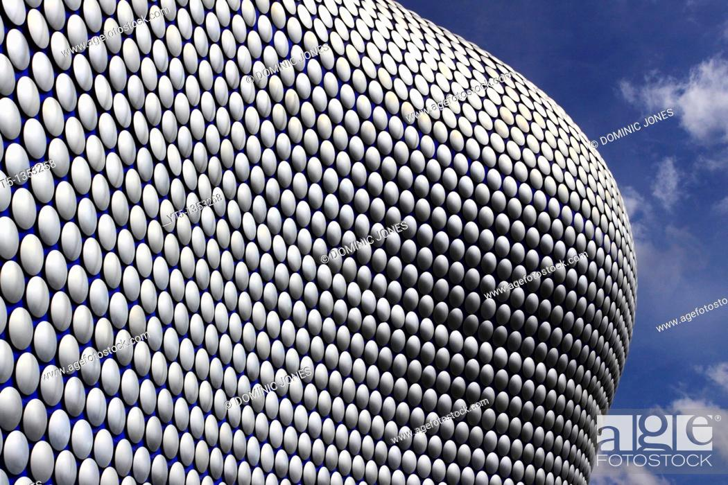 Stock Photo: The Selfridge Building, designed by Future Systems, Bullring, Birmingham, West Midlands, England.