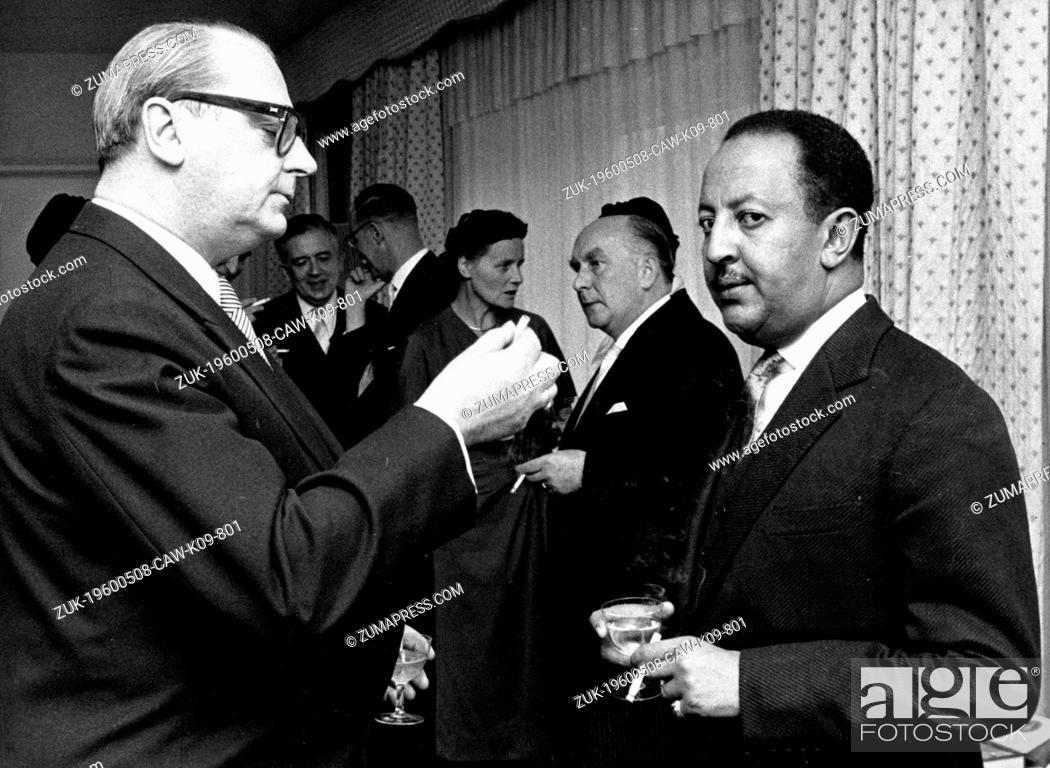 Dec  4, 1959 - Munich, Germany - AMHA SELASSIE of Ethiopia