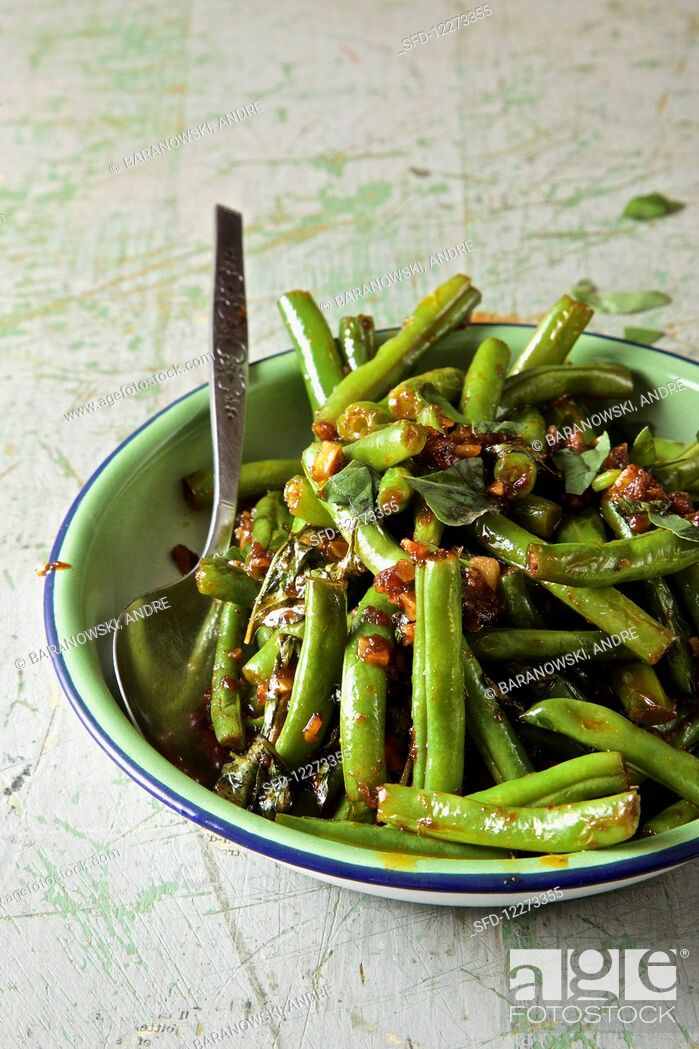 Stock Photo: Thai Green beans.