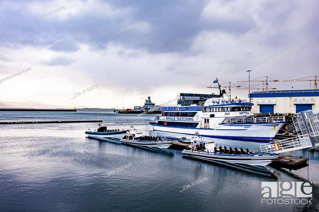Stock Photo: Grandi, Old Harbour of Reykjavik, Iceland.