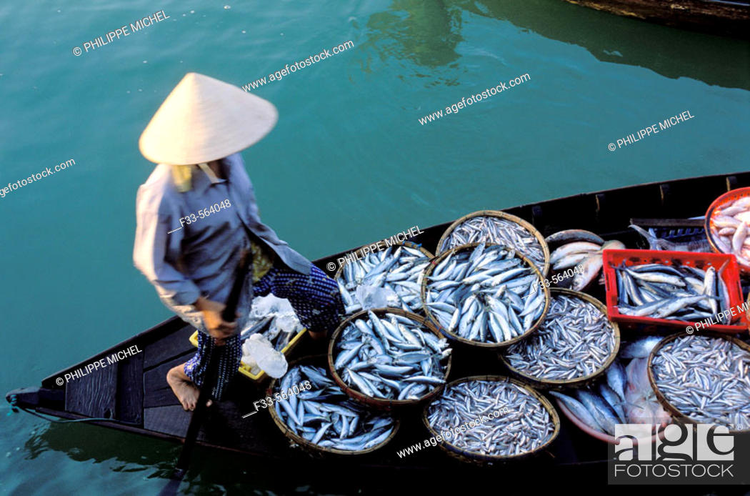 Stock Photo: Vietnam. Hoi An. The market.