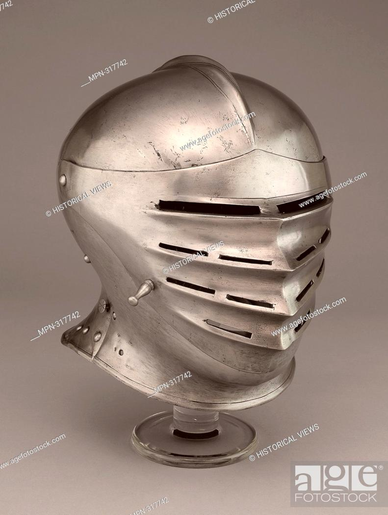 Stock Photo: Close Helmet - 1520 - Southern German or Austrian. Steel. 1510 - 1530. Southern Germany.