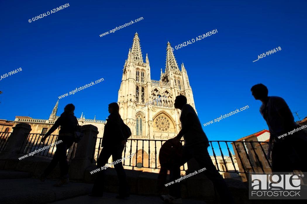 Stock Photo: Cathedral, Burgos. Castilla-Leon, Spain.