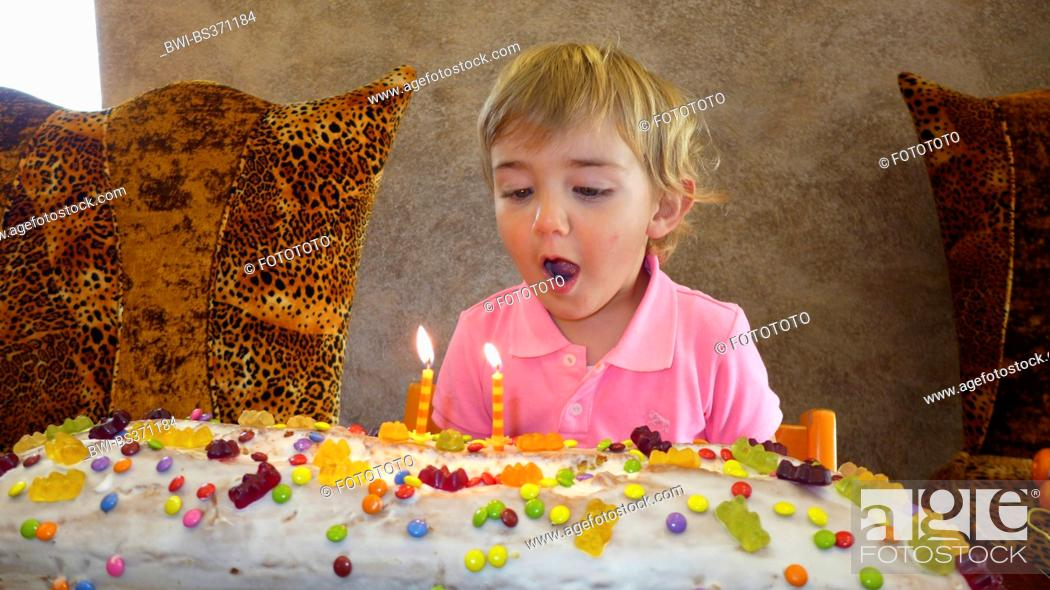 Wondrous Little Boy With Giant Birthday Cake Stock Photo Picture And Funny Birthday Cards Online Alyptdamsfinfo