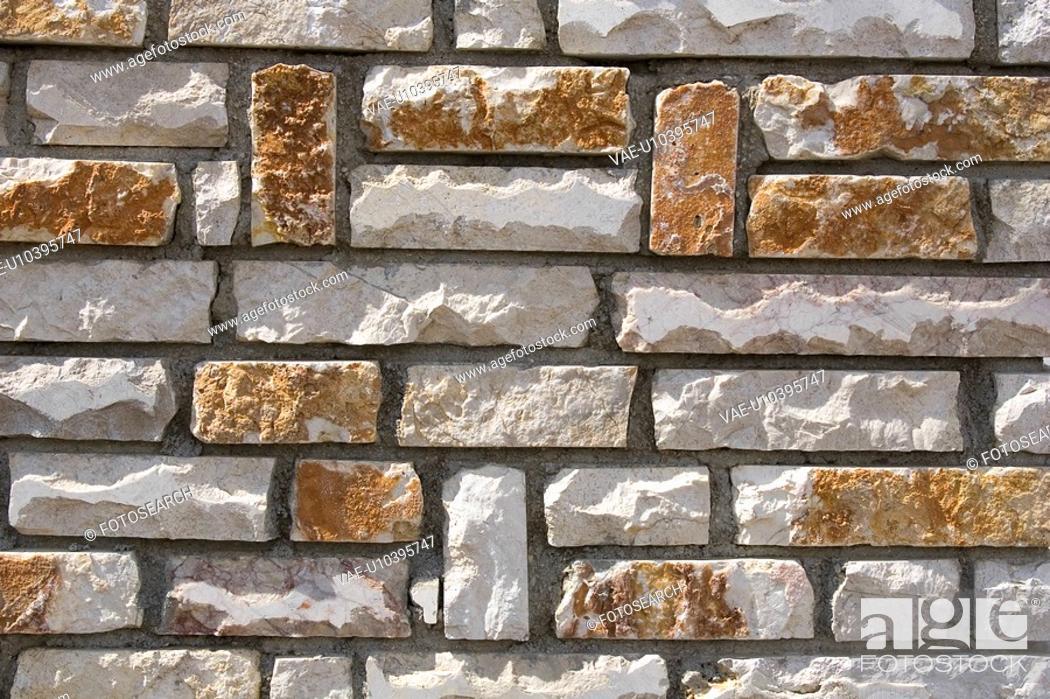 Stock Photo: Building, Concrete, Close-Up, Cement, Array.