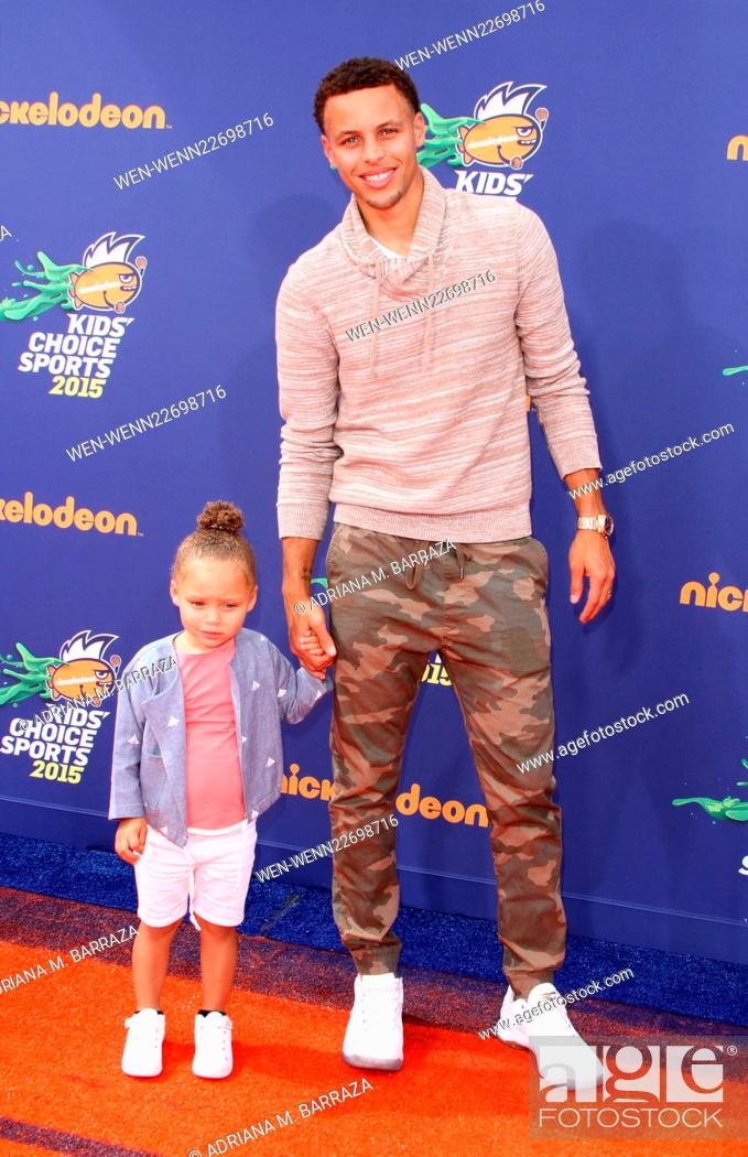 8228ab487ab5 Stock Photo - Nickelodeon s Kids  Choice Sports 2015 Awards held at UCLA s  Pauley Pavillion Featuring  Stephen Curry