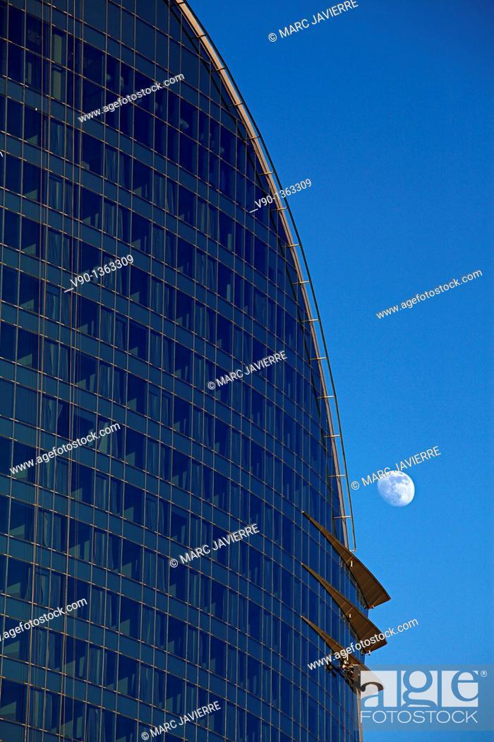Stock Photo: Hotel Vela, Barcelona.