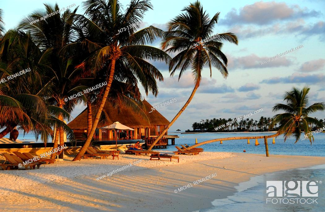Stock Photo: Conrad Maldives Rangali Island.