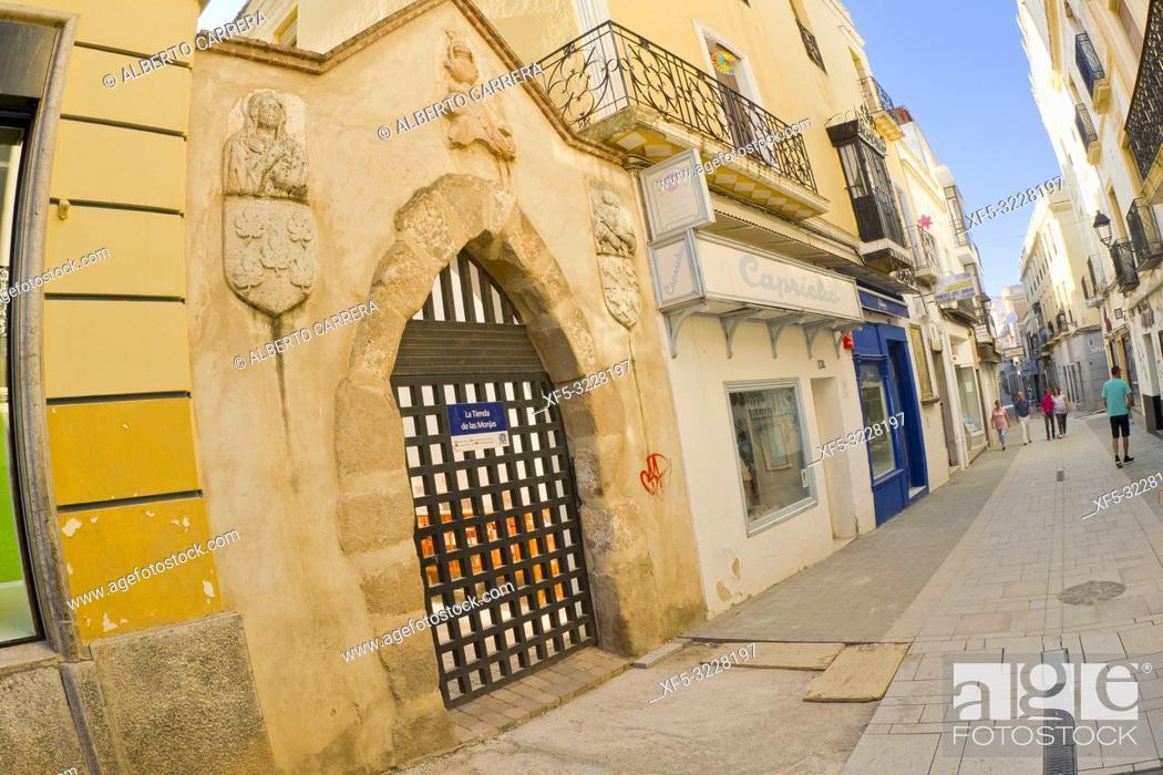 Stock Photo: Museo Convento de Santa Clara, Monasterio de Santa María del Valle, Zafra, Badajoz, Extremadura, Spain, Europe.