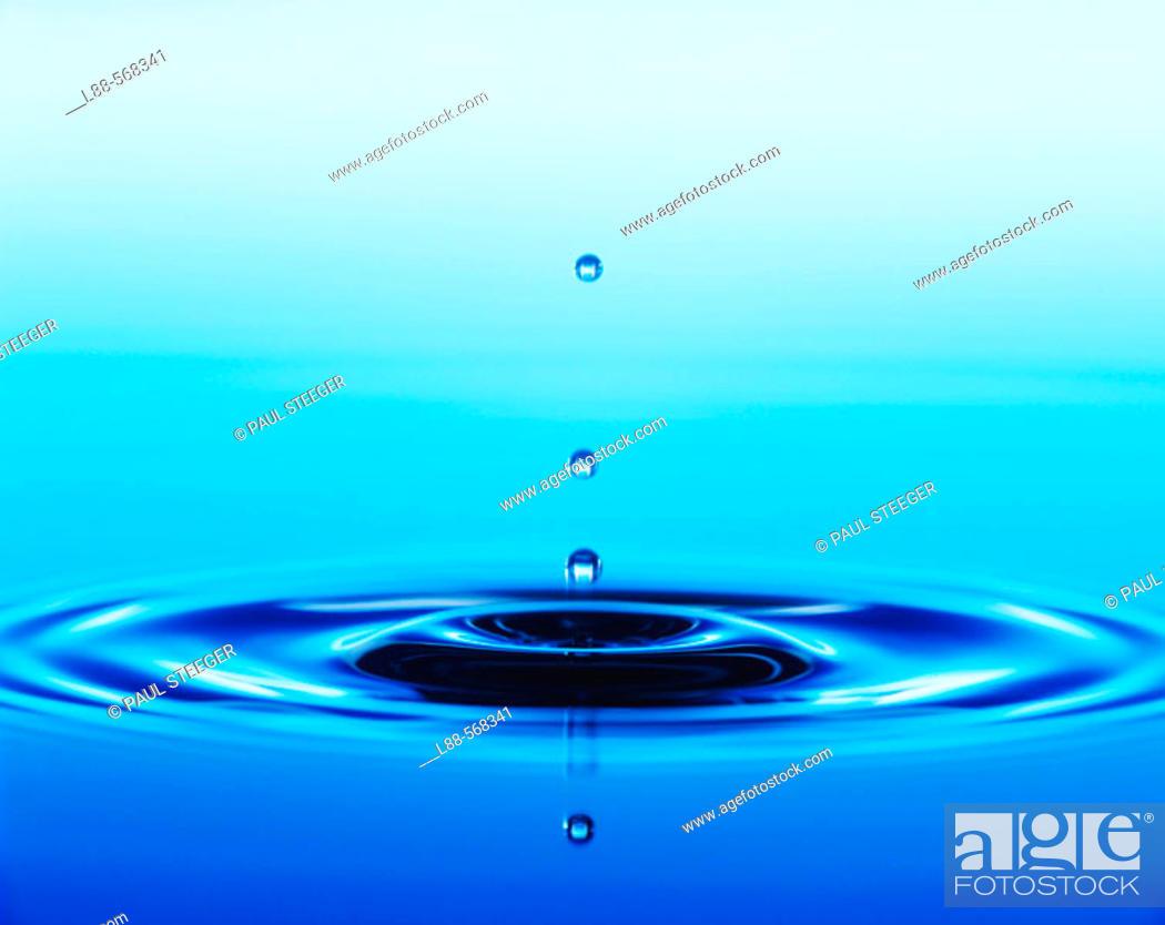 Stock Photo: Waterdrop, Water drop,.