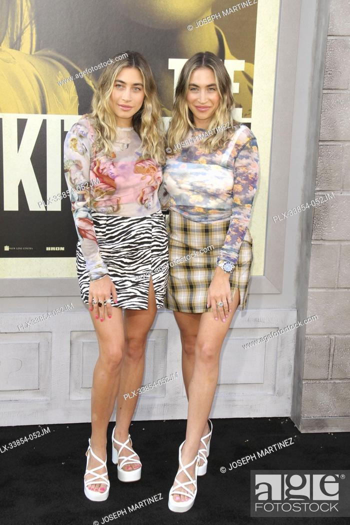 """Stock Photo: Allie Kaplan, Lexi Kaplan at Warner Bros. Pictures' """"""""The Kitchen"""""""" Premiere held at the TCL Chinese Theatre, Los Angeles, CA, August 5, 2019."""