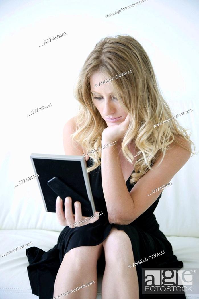 Stock Photo: Usa. Miami. Woman Lifestyle.