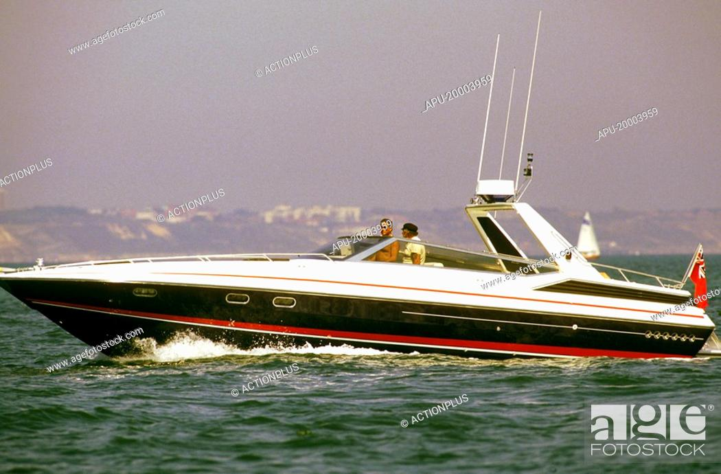 Leisure offshore powerboat, Stock Photo, Picture And Rights