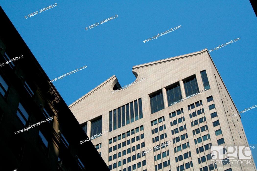 Stock Photo: Sony Building, Manhattan, New York, United States, North America.