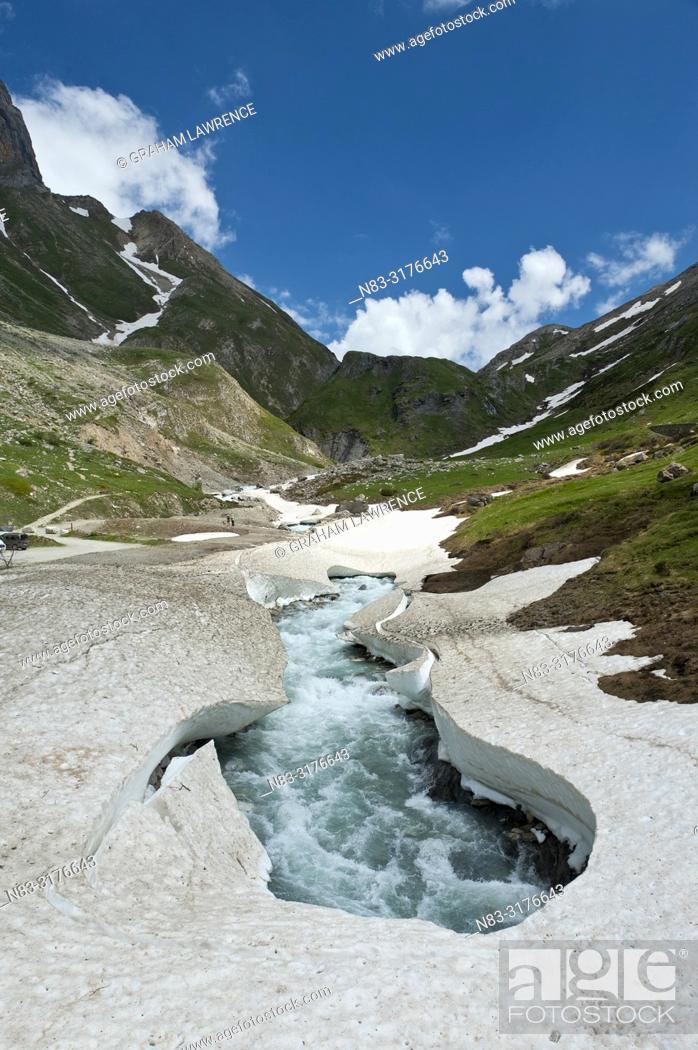 Stock Photo: Parc national de la Vanoise, Savoie, France, Europe.