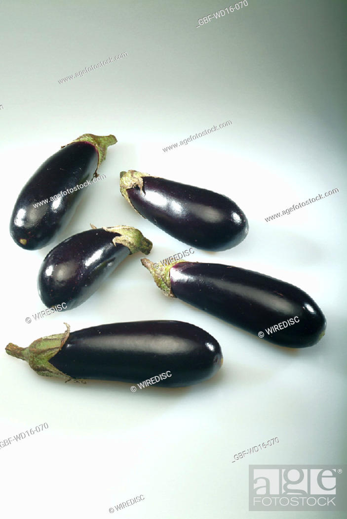 Stock Photo: Food, vegetables, eggplant.