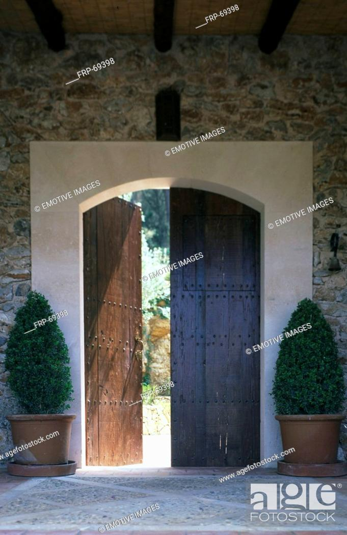 Stock Photo: Wodden Gate.