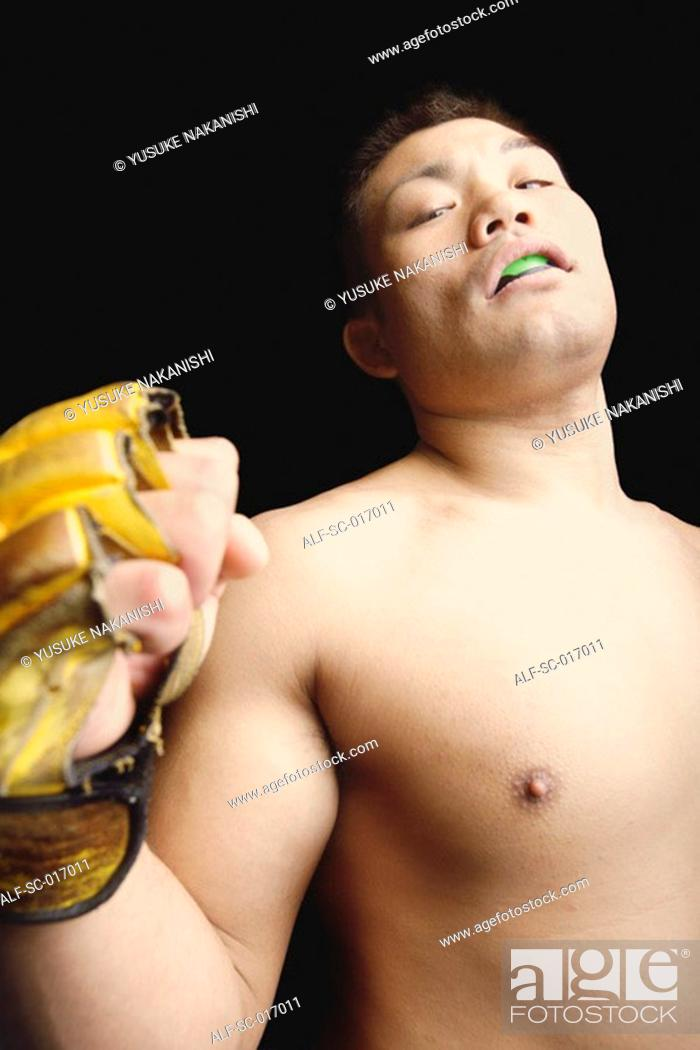 Stock Photo: Fighters jest.