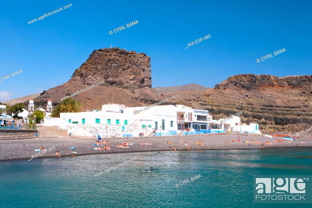 Stock Photo: Spain - Canary Islands - Gran Canaria - Agaete - Puerto de las Nieves.