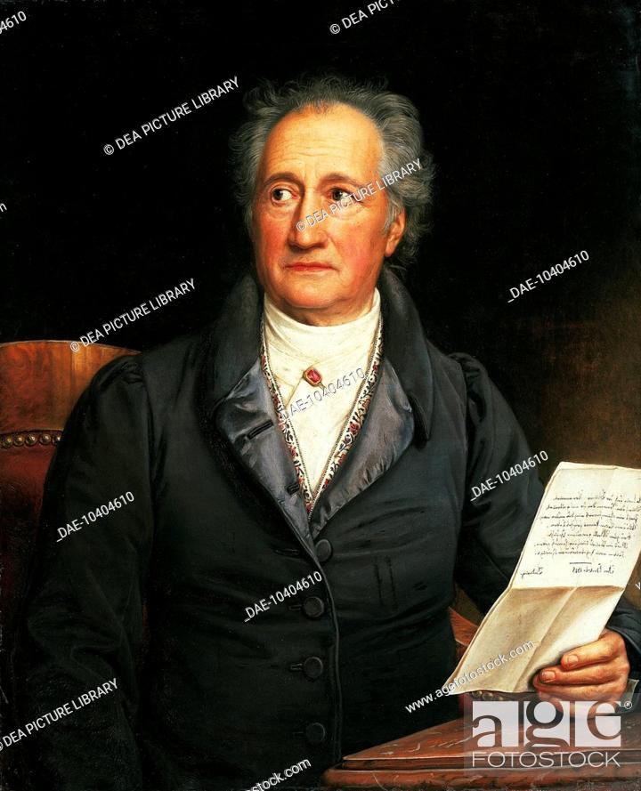 Portrait Of Johann Wolfgang Von Goethe Frankfurt Am Main