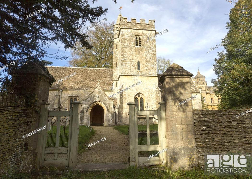 Imagen: Church of Saint Catherine Westonbirt House and School chapel, Tetbury, Gloucestershire, England, UK.