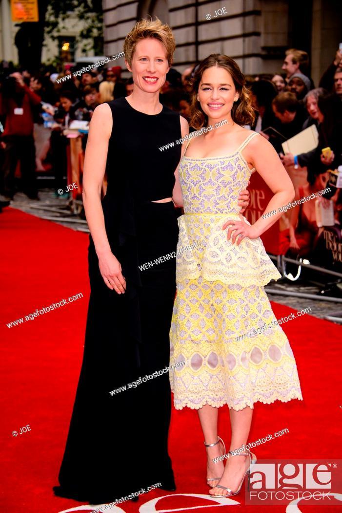 Red Dress Emilia Clarke Me Before You