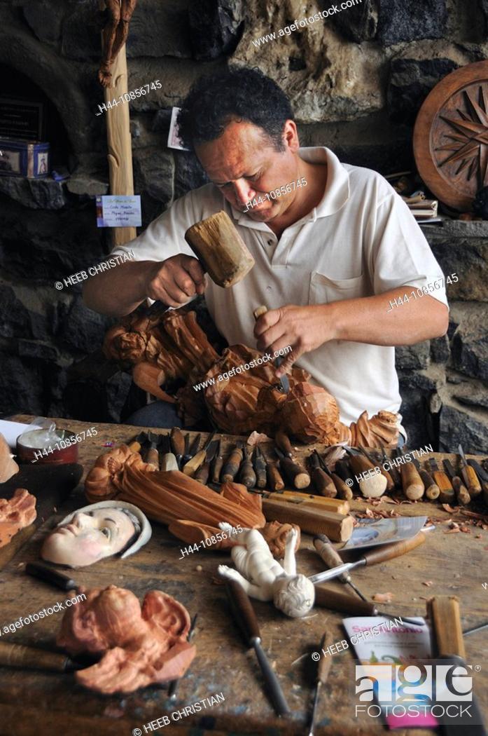 Stock Photo: 10856745, Ecuador, Taller Hermanos Fuentes, Woodwo.