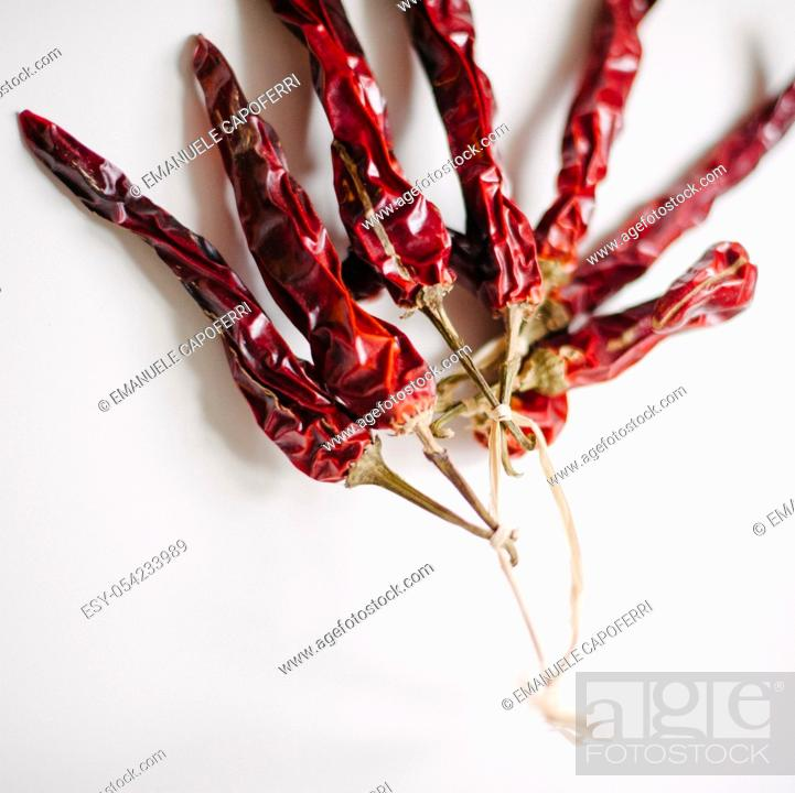 Stock Photo: Hot peppers.