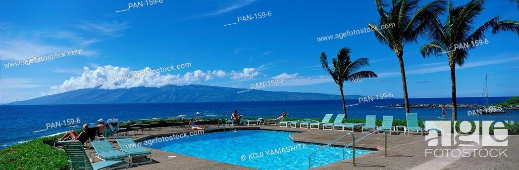 Stock Photo: Kapalua BayHotel, Maui, Hawaii, USA, No Release.