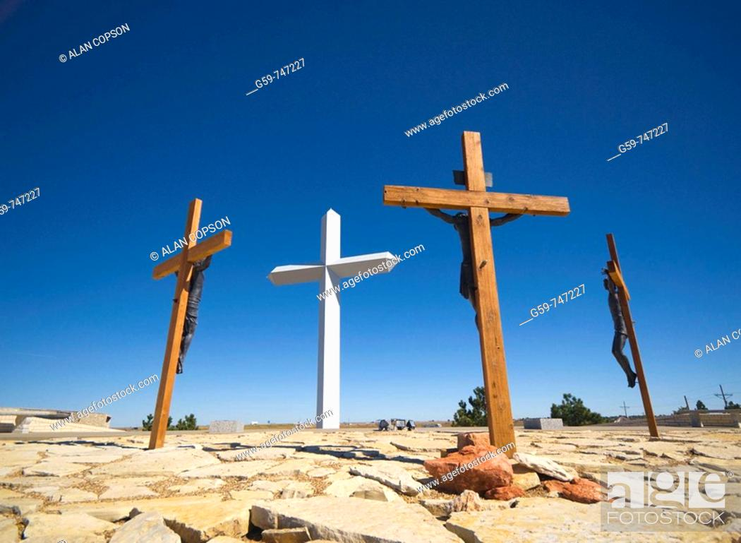 Imagen: USA Texas  Route 66  Groom  The Cross of Our Lord Jesus Christ.