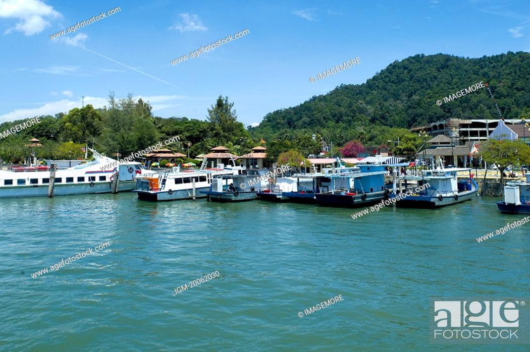Stock Photo: Malaysia, Pangkor Laut Island.