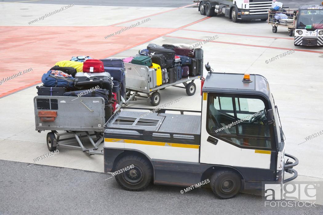 Stock Photo: Transported Luggage.
