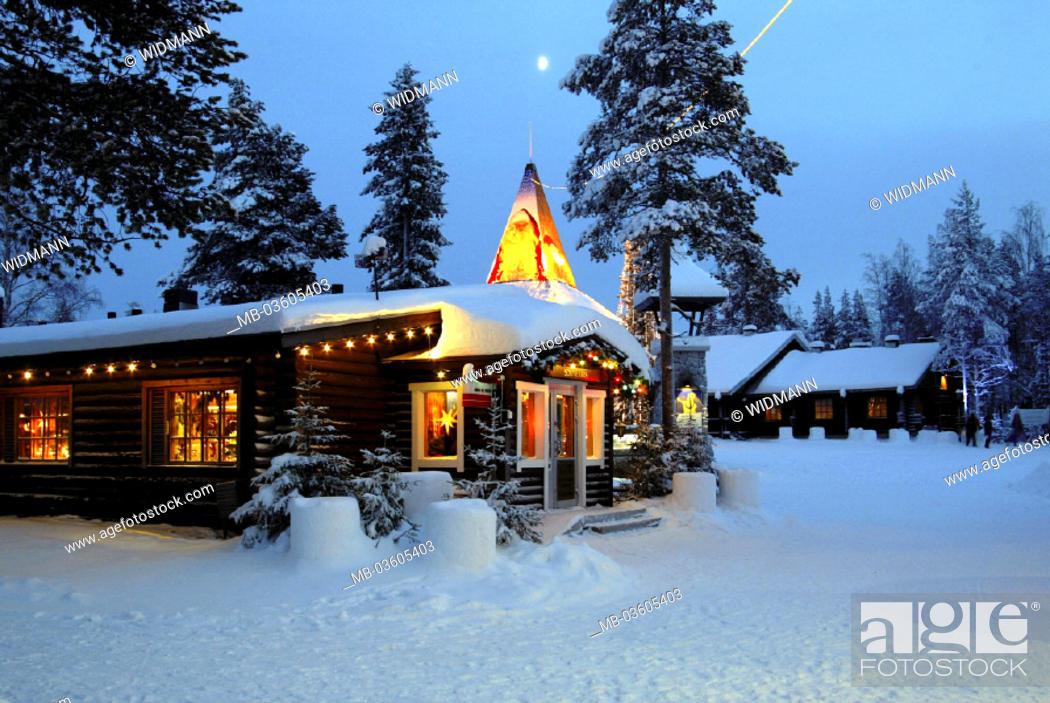 Stock Photo: Finland, Lapland, Rovaniemi.
