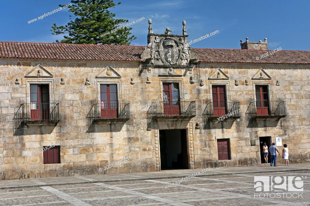 Stock Photo: Palace of Fefinans, Cambados, Pontevedra province, Region of Galicia, Spain, Europe.