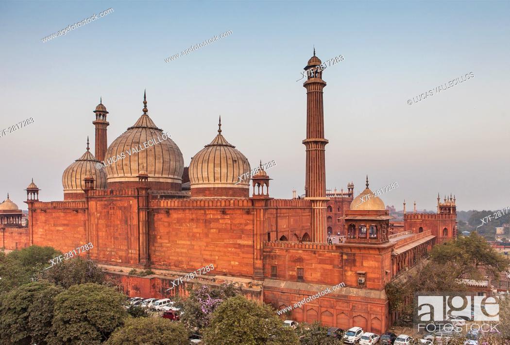 Photo de stock: Jama Masjid mosque, Delhi, India.