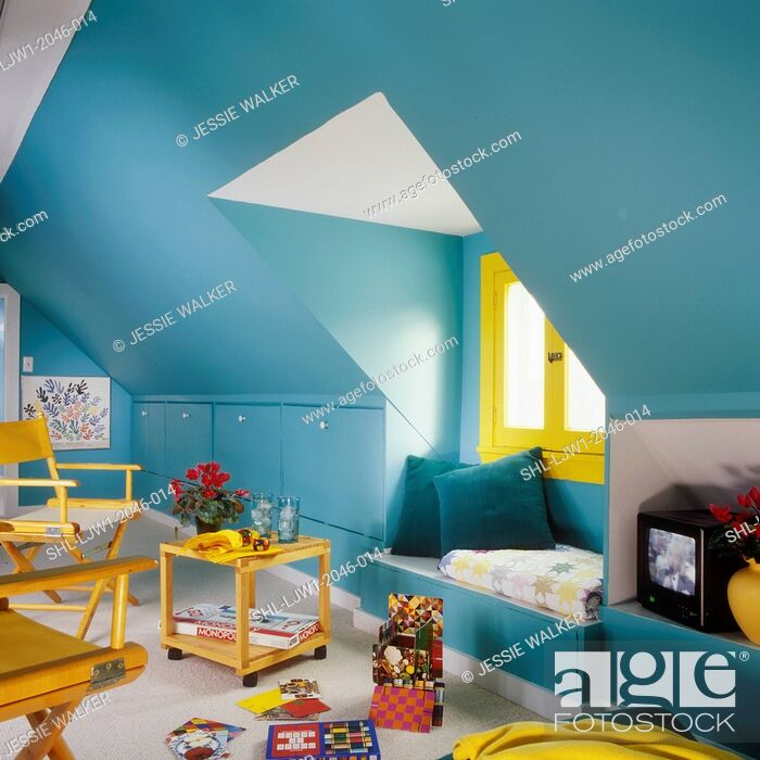 Excellent Childrens Bedroom Playroom In Attic Built In Drawers Andrewgaddart Wooden Chair Designs For Living Room Andrewgaddartcom