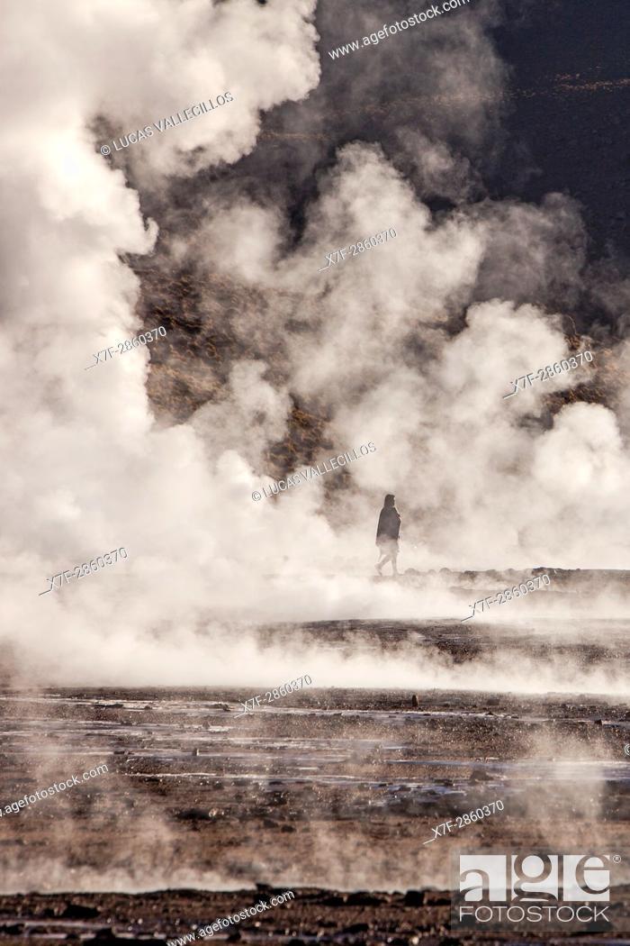 Imagen: El Tatio geysers, Atacama desert. Region de Antofagasta. Chile.