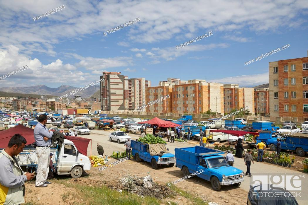 Street Market In Baghche Jug In Northwestern Iran Recorded On 02 06 2019 Stock Photo Picture And Rights Managed Image Pic Pah 123807034 Agefotostock