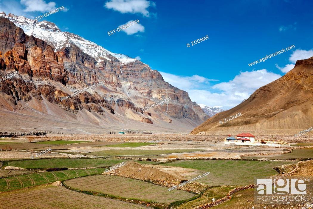 Stock Photo: Spiti Valley. Himachal Pradesh.