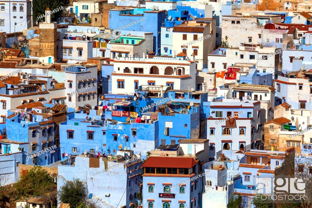 Stock Photo: Chefchaouen, Chaouen, Morocco.
