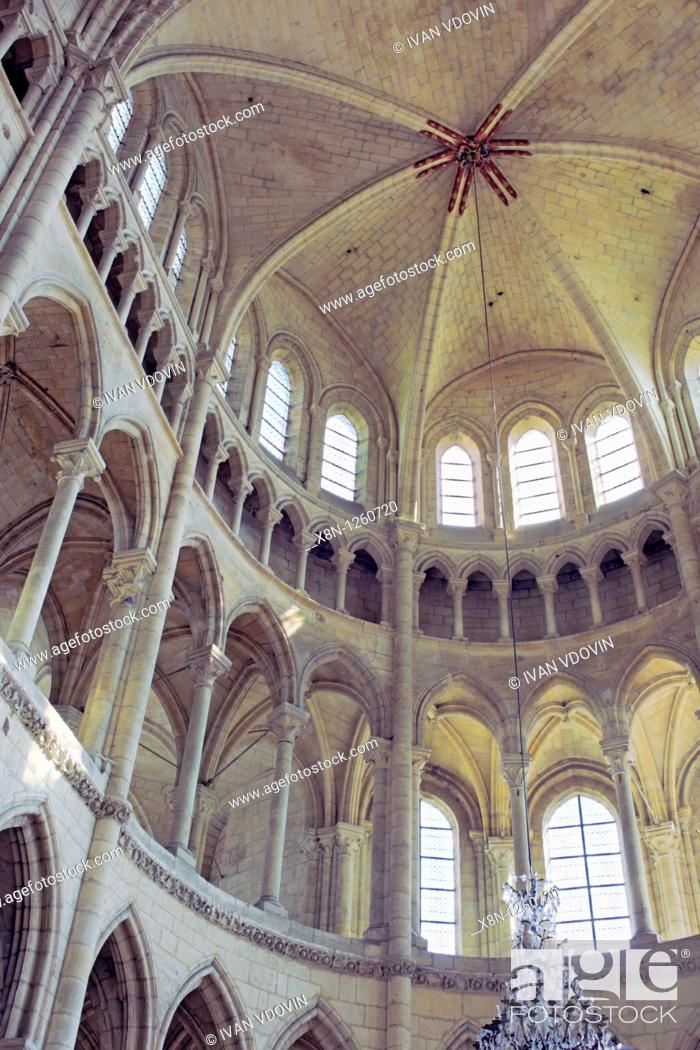 Stock Photo: Soissons cathedral, Aisne department, Picardy, France.