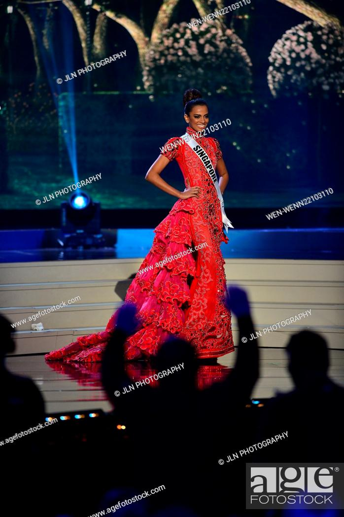 63rd Annual Miss Universe Pageant - Preliminary Show: Evening Gown ...