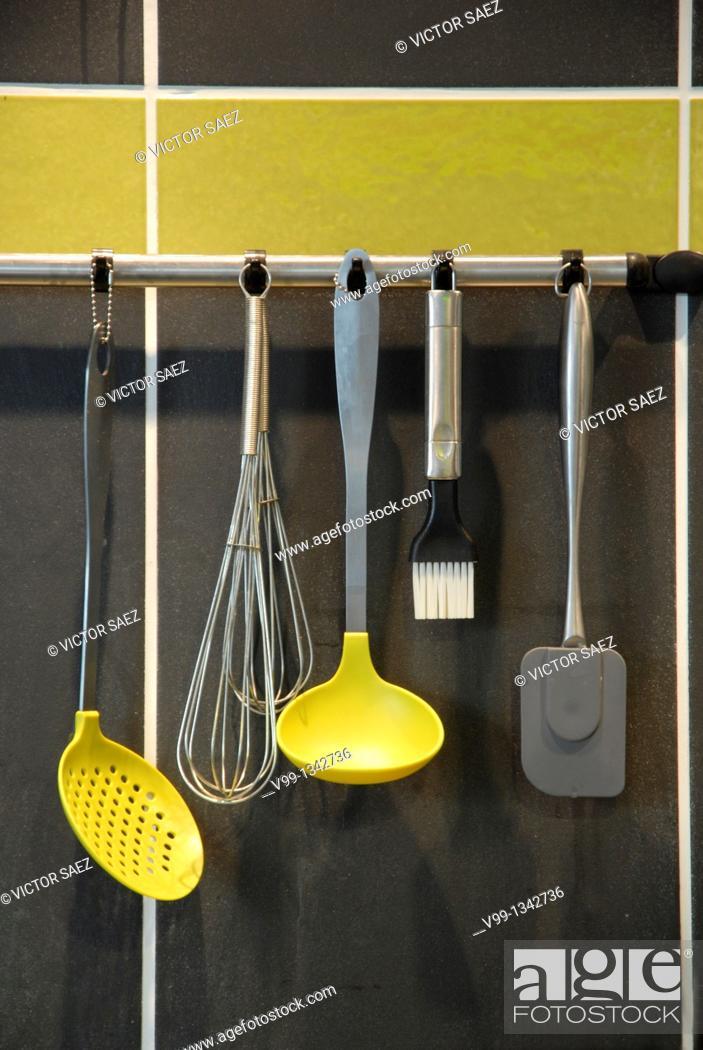Stock Photo: kitchenware.