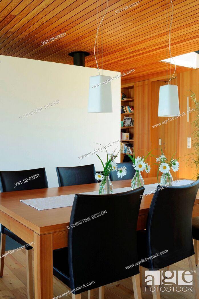 Stock Photo: House, sustainability, simplicity, west os Austria, Austria.